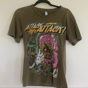 ATTACK ATTACK Graphic band T Sz S
